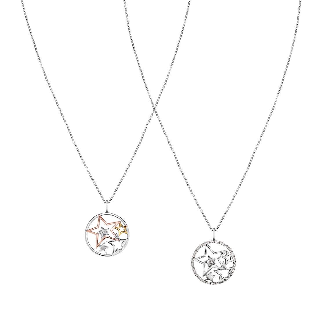 Engelsrufer - Kette Sterne in Silber