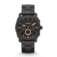 Fossil - Herren Uhr schwarz FS4682