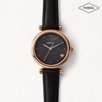 Fossil - Damen Uhr schwarz