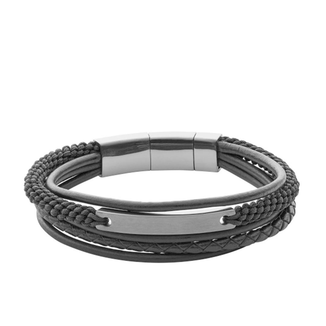 Fossil - Herren Armband schwarz JF02378793