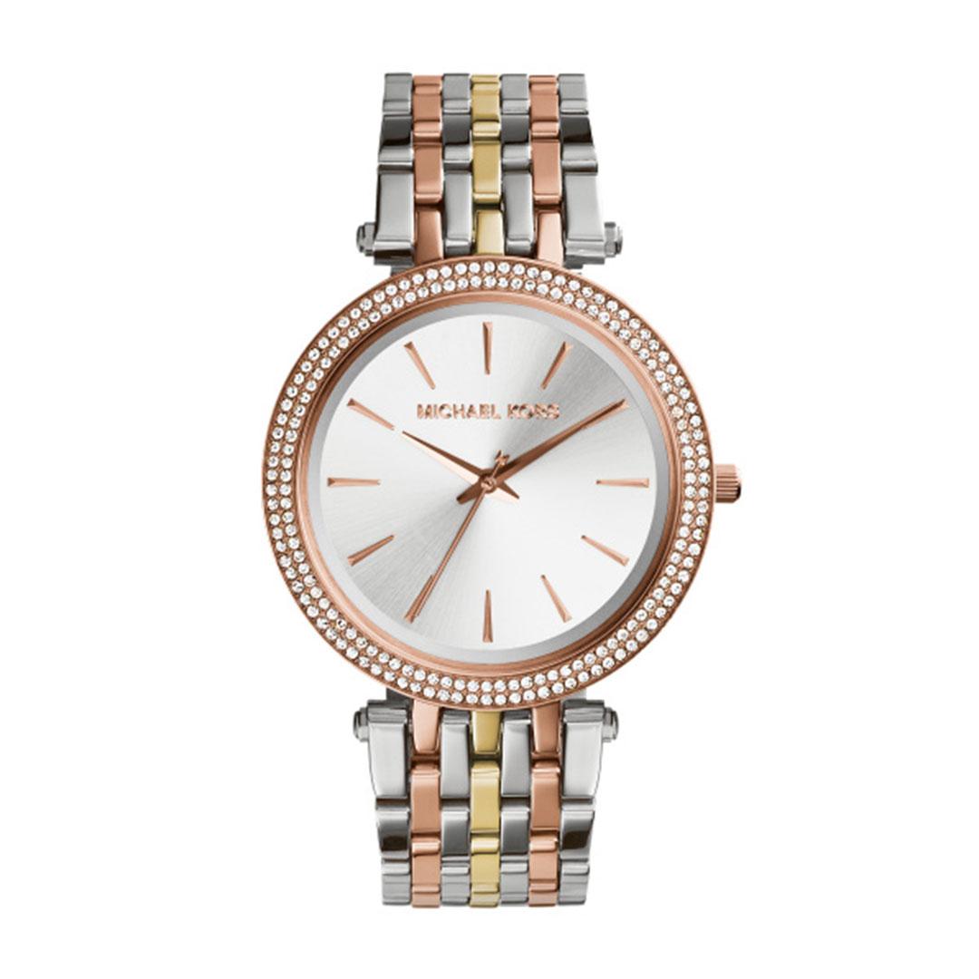 Michael Kors - Damen Uhr Silber, Rose, Gold MK3203