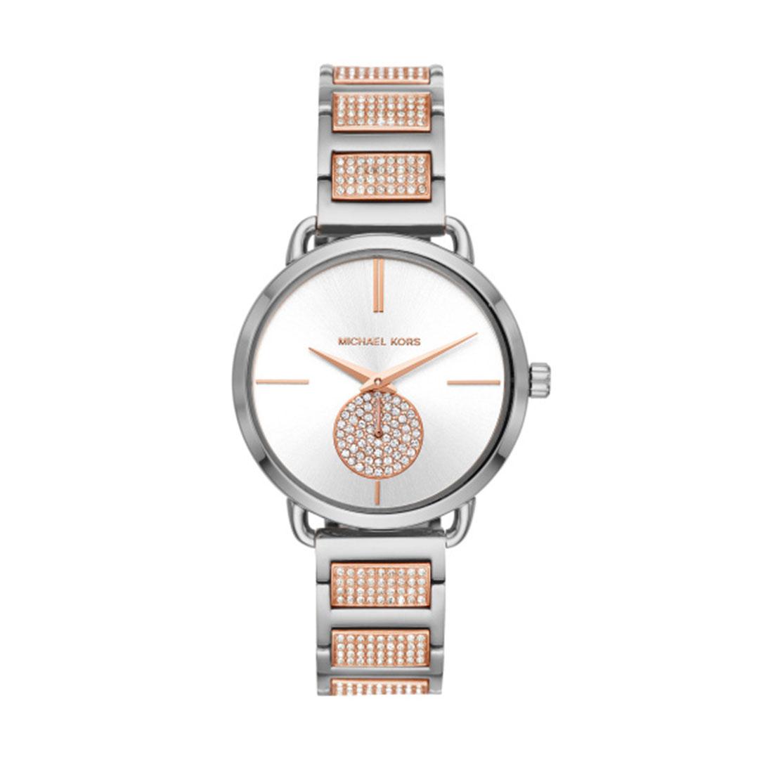 Michael Kors -Damen Uhr silber rose MK4352