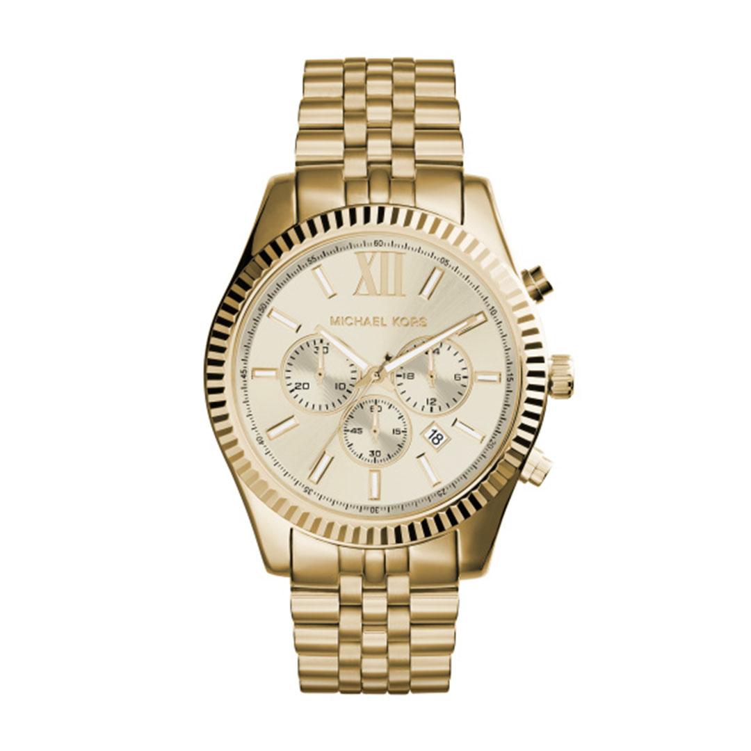 Michael Kors - Herren Uhr Gold MK8281