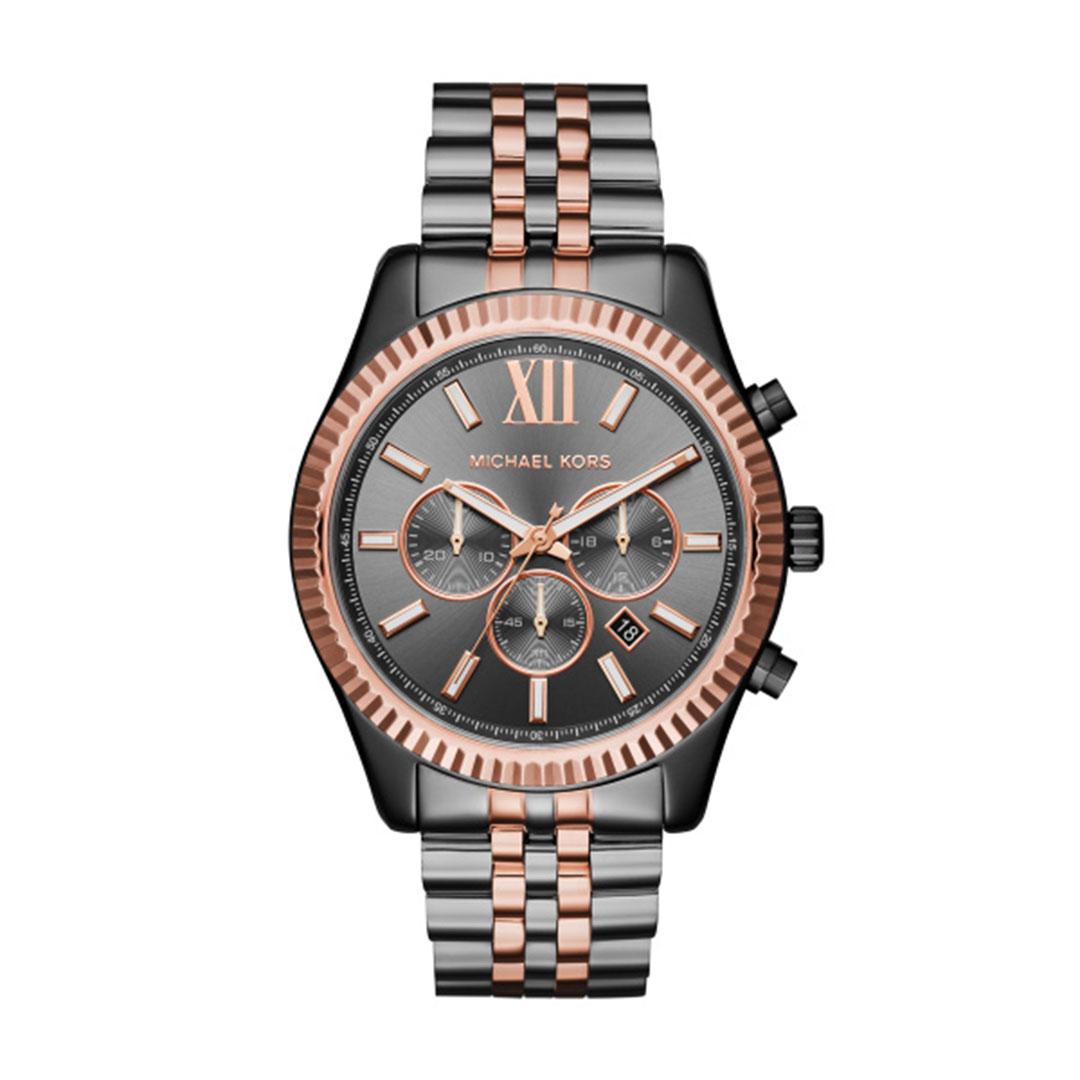 Michael Kors - Herren Uhr Titan Rose MK8561
