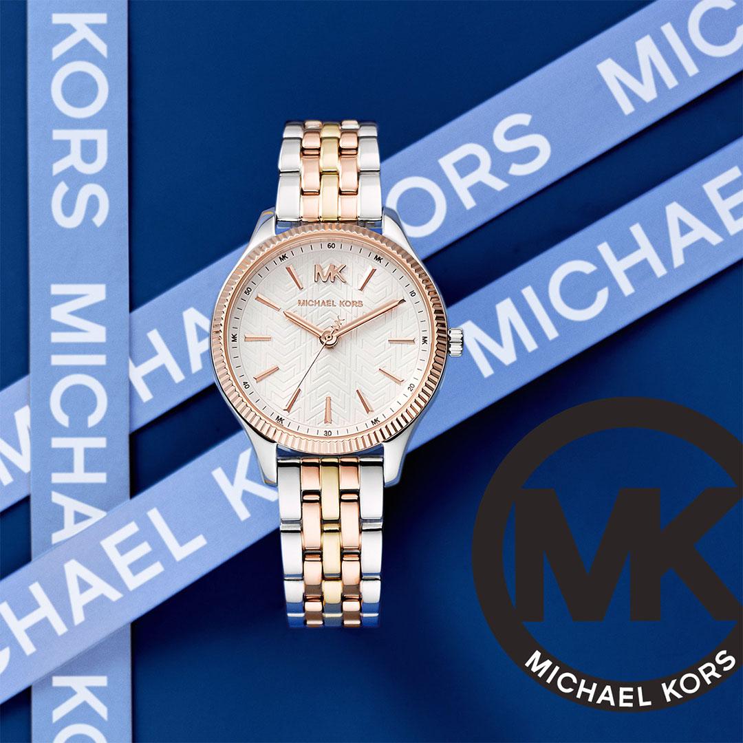 Michael Kors - Herren Uhr Gold, Silber, Rose mk6642