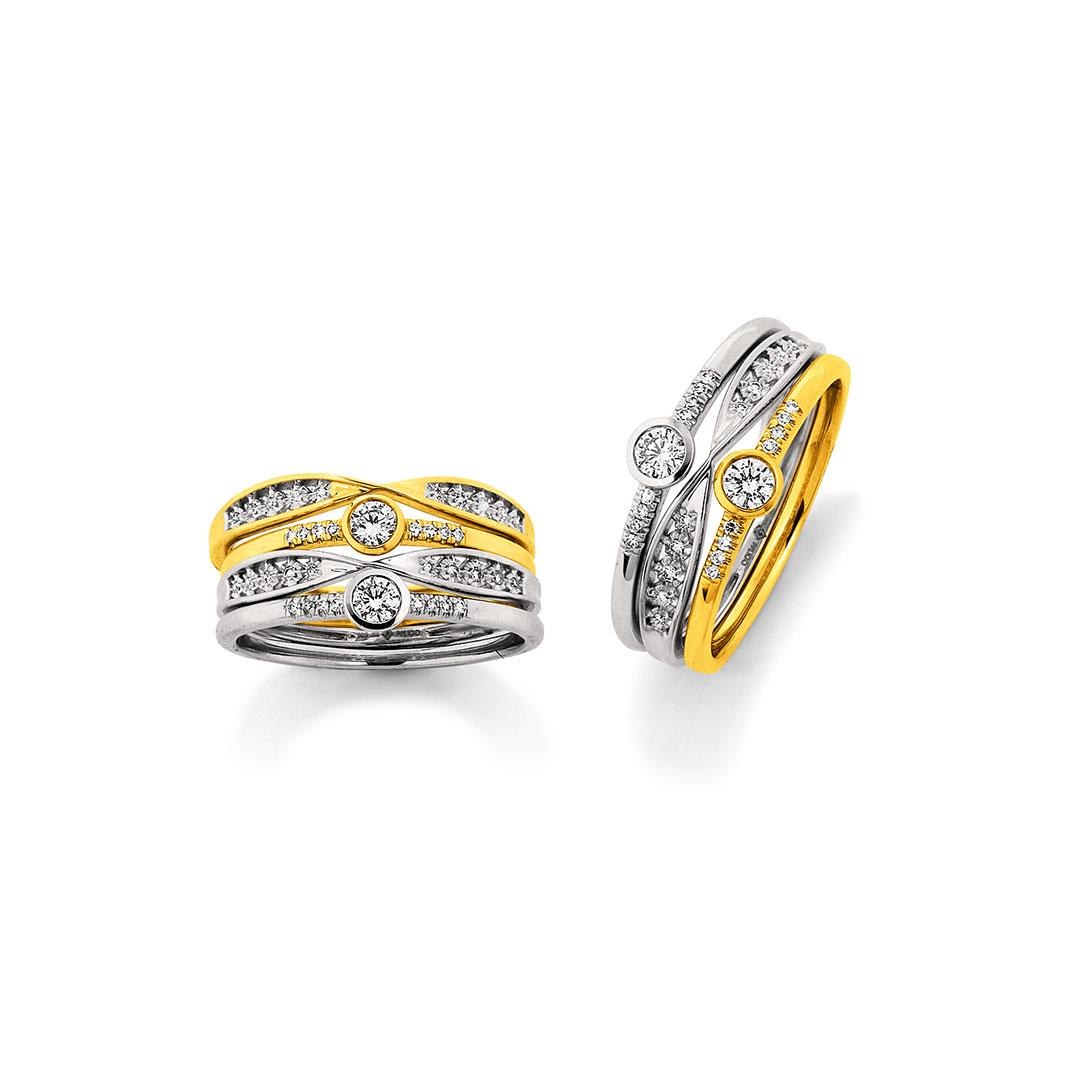 Palido - Ringe Silber, Gold
