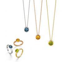 Elaine Firenze - Ketten, Ringe in Silber, Rose, Gold mit Steinen