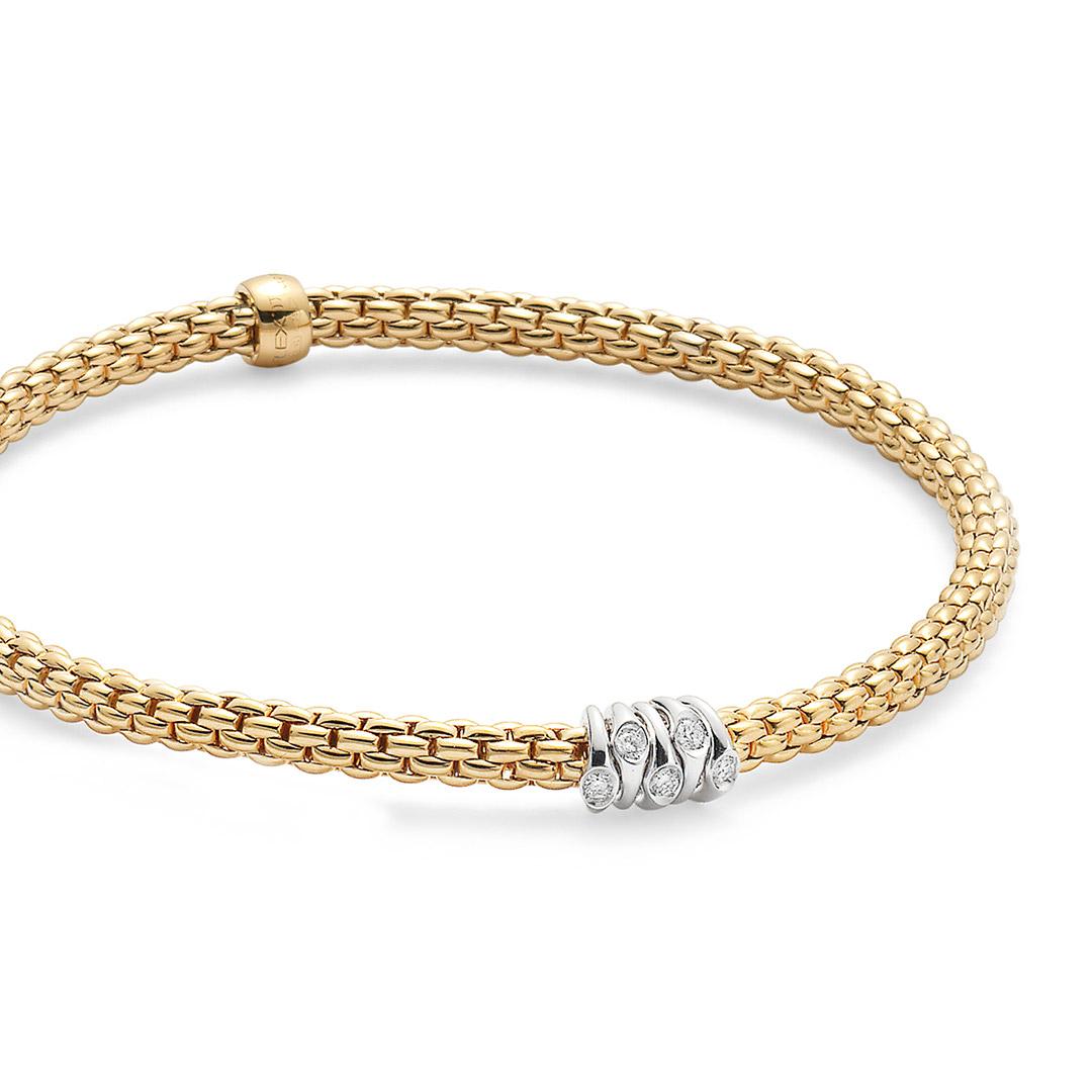 Fope Armband Prima Gelbgold