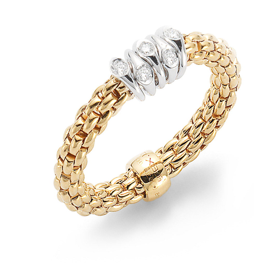 Fope Ring Prima AN746 BBR Gelbgold