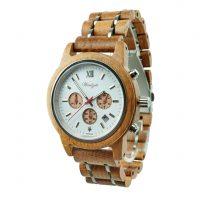 Waidzeit-Herren-Uhr-Holz-Chronometer