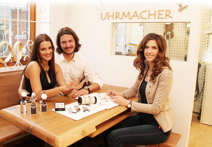 Eheringberatung beim Juwelier Wimmer in St. Johann in Tirol
