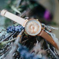 Blumenkind Damen Uhr Blume Rose